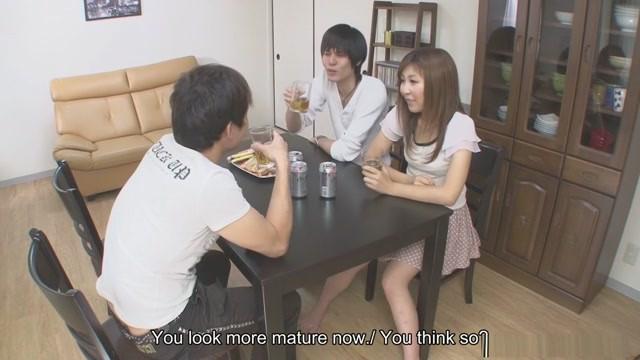 Naughty Hitomi Okubo is cheating on her partner