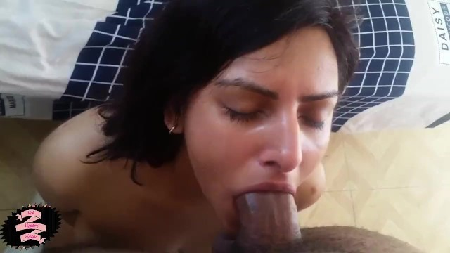 Cheating Indian/Arab wife gets revenge on her husband by deepthroat BBC