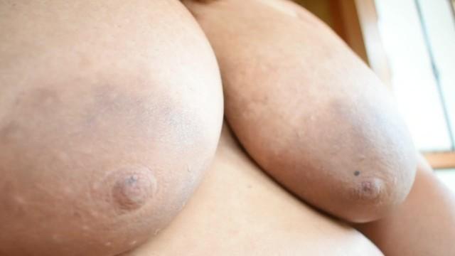 POV: Making my nipples grow hard
