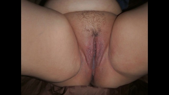 My wife's first creampie from another man... EVER!