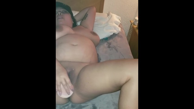 Busty Asian Slut Masturbation