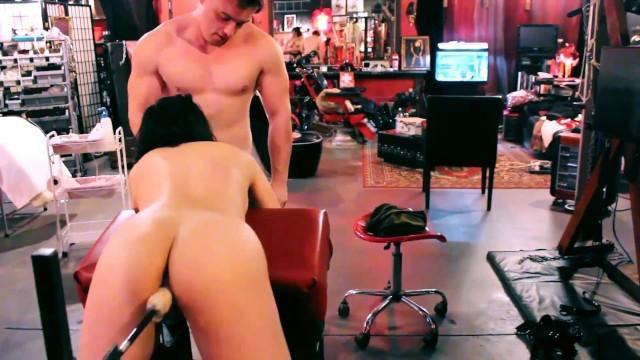 Asian New Zealand whore fucks Machine