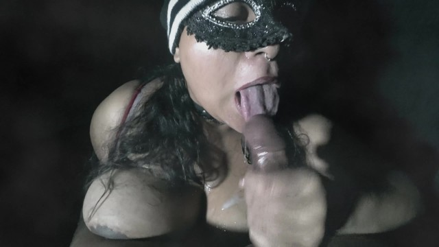 idk BBW Gagging and Giving A Sloppy Blowjob To BBC