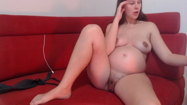 naked pregnant with hairy pussy while husband away