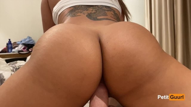 Young Japanese Babe Rides Dick And Gets Creampied Close Up