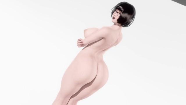 Avina Big Titty Goth Girlfriend Ass Jiggle Animation