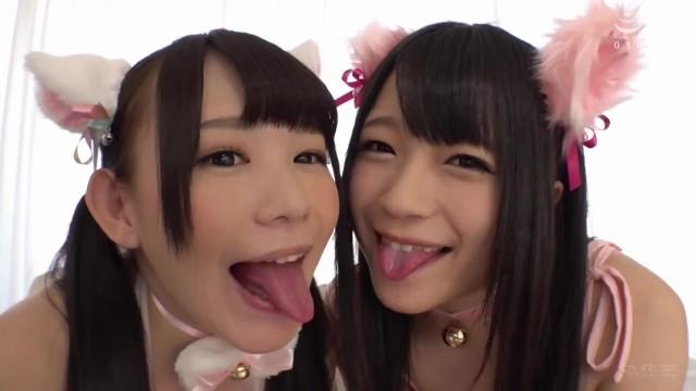 18yo ?????? Cute Pet Girls - 1080p FHD jav lesbian Marie Konishi Riona Minami