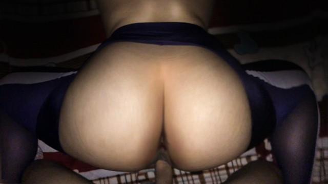 Thai Chubby wife fucked DOGGY 3 (Yoga pants Big !!!)